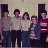 Russ R. Russ C. Heidi, Nana, Kathy, Visiting Gerri in California 1984