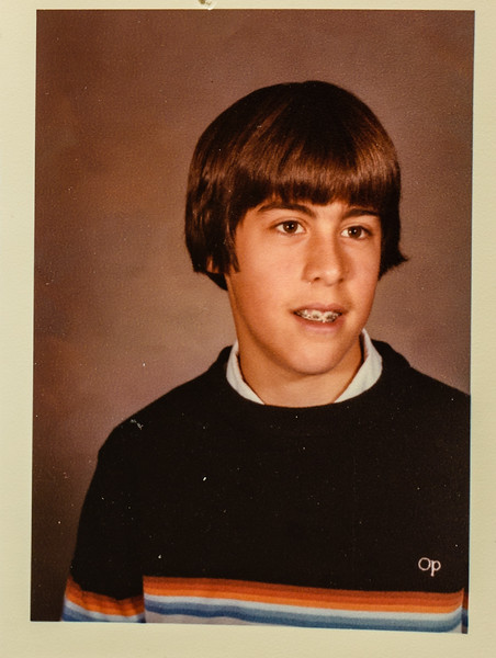 Mike Lamson 8th grade 13 years old 1982