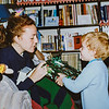 Kristen Jarvie and Remington Jarvie Christmas 1993