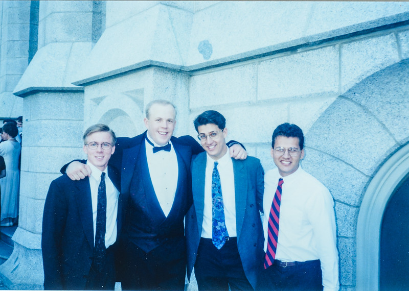 Eric's wedding- Joseph, Shane, and Craig Dixon
