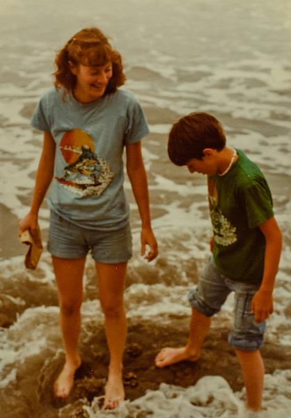Vonda and Jay 1977 Stinson Beach California