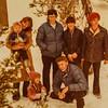 Kris, Vonda, Kathy, Jay, Jeff, Sara and Scott The Scott Jarives at Mammoth, xmas 1976