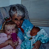 Marcia with grand kids