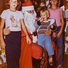 Kristen, Santa, Sara and Scotty 1981