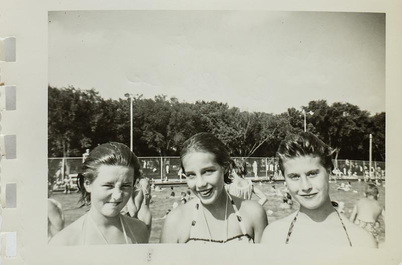 Mary Kay Harrington, Pat Pfeiffer, and Evelyn Walner