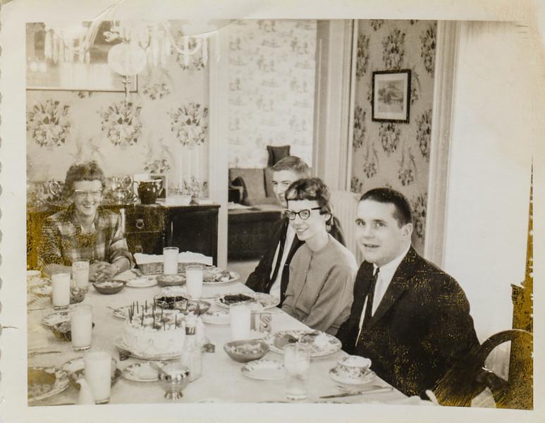 Pauline Lamson, Larry Knief, Kathy Lamson
