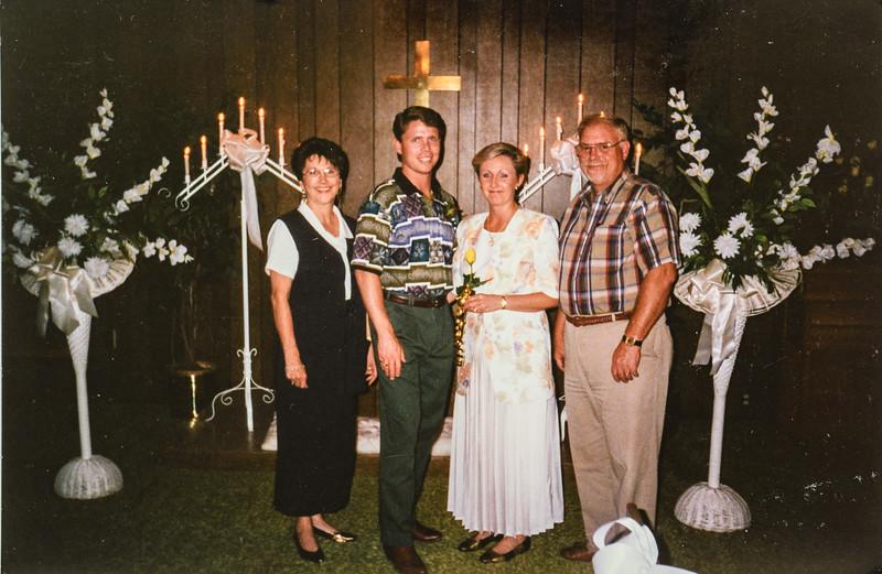 Matt and Joy's wedding July 11th 1995 2:00pm