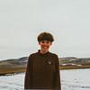 Sara in the snowfield in Payette, Idaho 1994