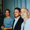 Dave, Matt, Jeff at Kristen's wedding October 2001
