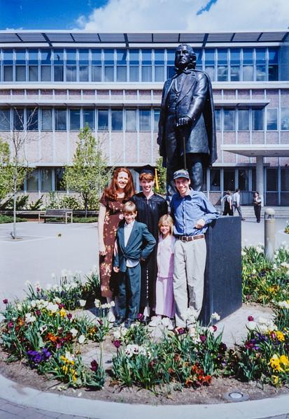 Kris, Sara, Scotty, James, Jennie 1997