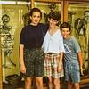 Kristen, Sara, Scott at Palmer College 1992