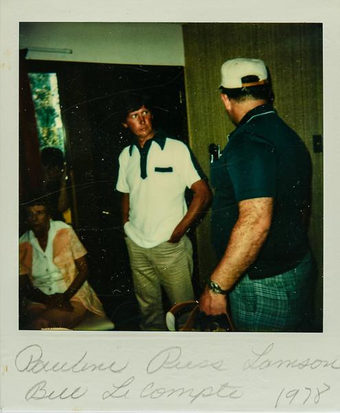 Pauline, Russ, Bill LeCompte 1978