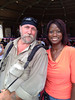 Myself, with Deneen Borelli at an event in Florida, 2012