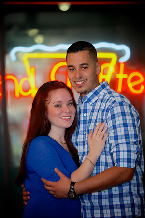 Tampa Florida Engagement Portrait Photography, Ybor City