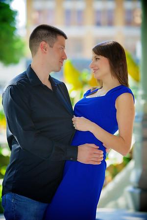 Tampa Romantic Portrait Photography: Ekaterina & Jeff