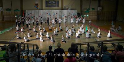 Nokian Pyryn voimistelujaoston kevätnäytös 23.5.2010 - Nokian Pyry Gymnastics section springshow  23. May 2010. Photo 577 . The Final Countdown