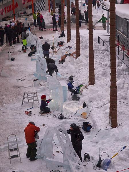 Tampere Ice Sculpting festival 2013
