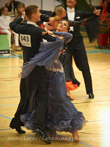 Tanssin otteessa - The dance Competition at Tampere 29.1.2011