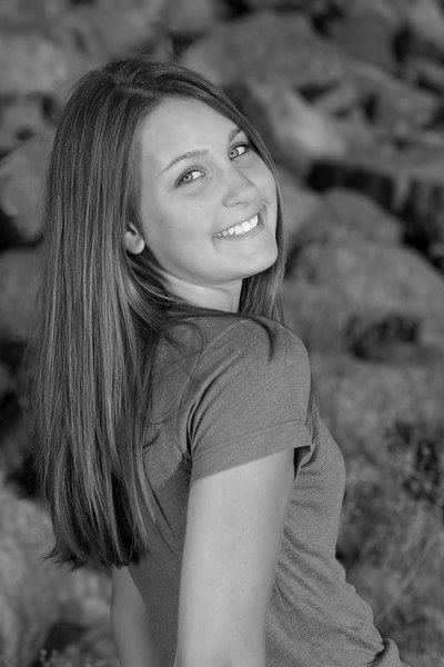 Erica Turner (B&W)