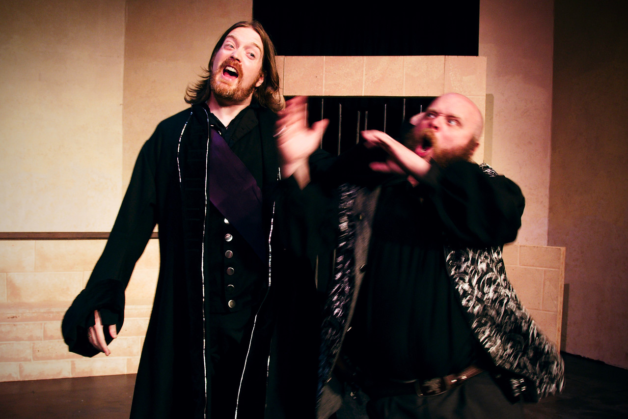 Petruchio and Grumio, BFF.<br /> <br /> Nicholas Oddson, Jonathan C. Dietrich.