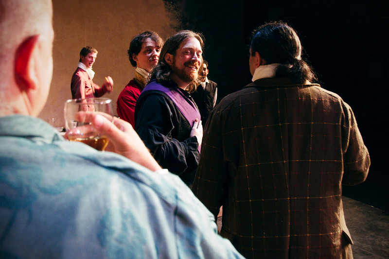 Petruchio: What's that?  A wager, do you say?<br /> <br /> Chuck Peeren (profile), Ciaran Myers, Adam Cyr, Nicholas Oddson, Arsenyk Ustaris (obscured), Rob LeGood.