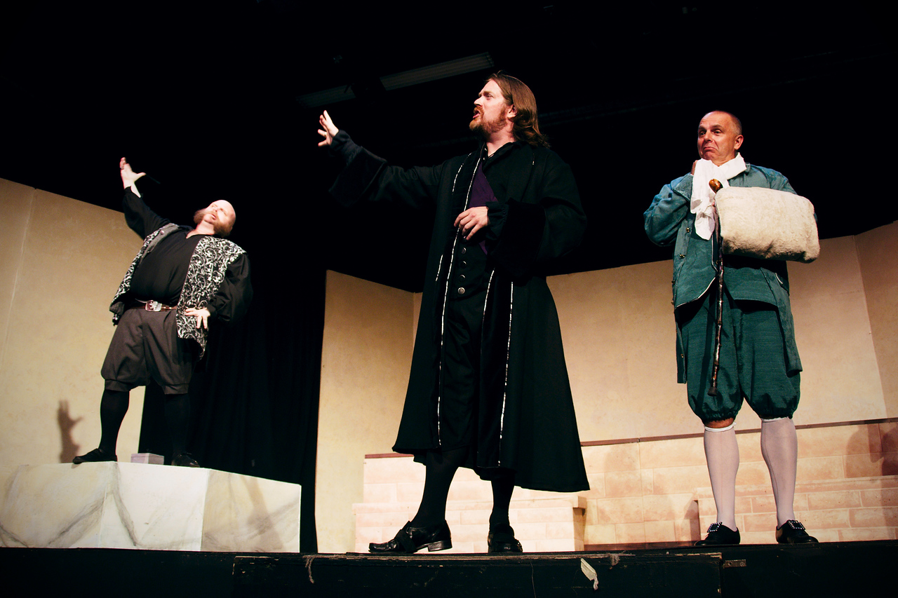 Petruchio is, clearly, an awesome sandwich with extra awesomesauce.<br /> <br /> Jonathan C. Dietrich, Nicholas Oddson, Chuck Peeren.