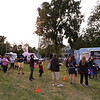 Second last Tuesday Tewksbury Community Market, at the field across from the Tewksbury Public Library. The last market will be Tuesday, Sept. 22, 4-7pm. Customers wait in a very long line for the Cookie Monstah truck, which sells cookie/ice cream sandwiches. (SUN/Julia Malakie)