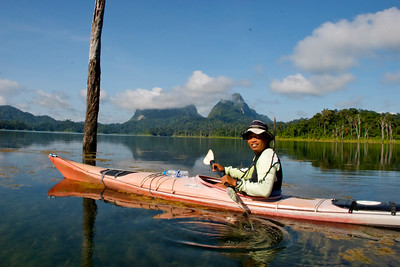 My guide Tom in Khao Sok National Park.