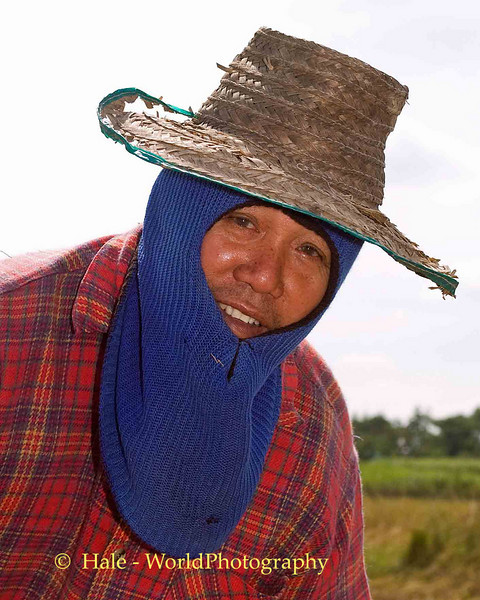 Isaan Field Worker, Tahsang Village Thailand