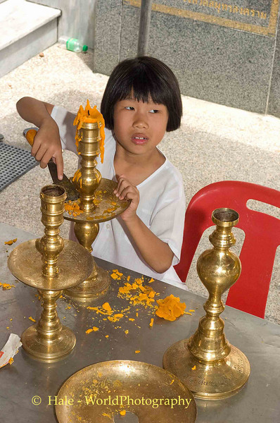 Cleaning Wax From Temple Candle Holders