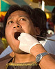 Mar Song Being Pierced by Rod, Phuket Vegetarian Festival, Thailand