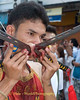 Mar Song Pierced by Swords, Phuket Vegetarian Festival, Thailand