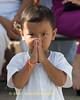 Little Boy Wai, Phuket Vegetarian Festival, Thailand