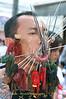 Mar Song Pierced by Several Skewers, Phuket Vegetarian Festival, Thailand