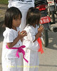 Little Girl Wai Mar Songs, Phuket Vegetarian Festival, Thailand