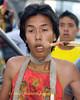 Mar Song Pierced by Wooden Stick, Phuket Vegetarian Festival, Thailand