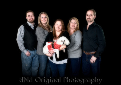 Steve & Tammy with children Jonathan & wife Nikki, & Ashton & Elsie Soft Focus