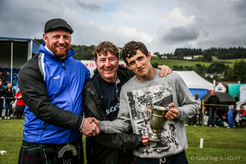Scottish Backhold Wrestling - Cup Winner - George Reid