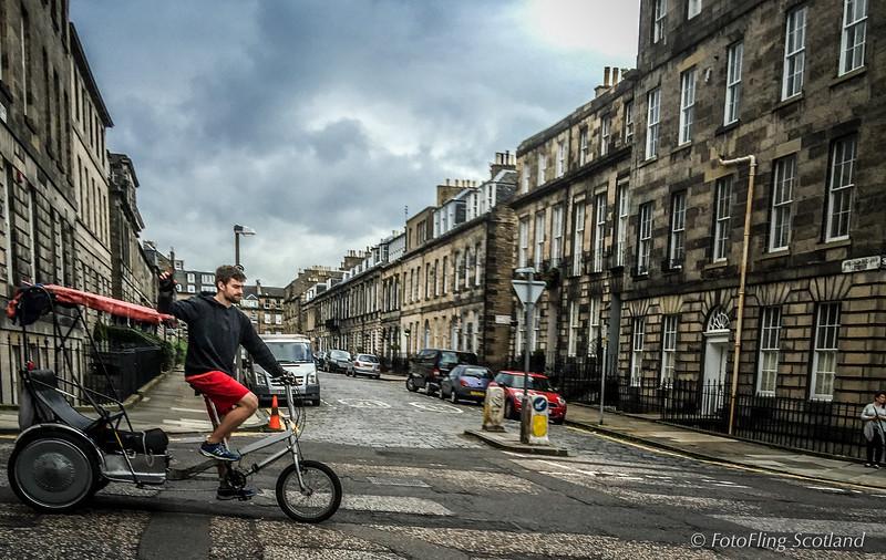 Edinburgh New Town Transportation