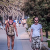 On Sitges Promenade