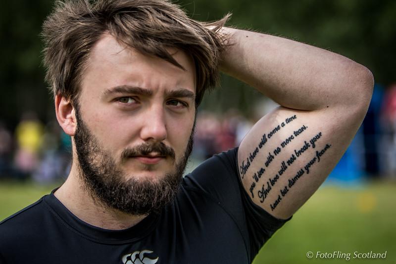 Matthew Southwell: Scottish Backhold Wrestler