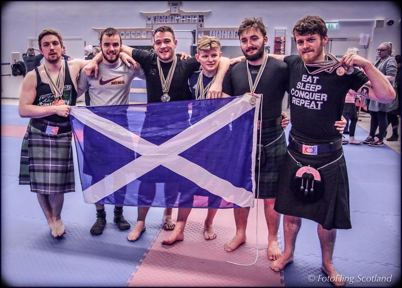 Scottish Backhold Wrestling Team - Reykjavik International Games 2016