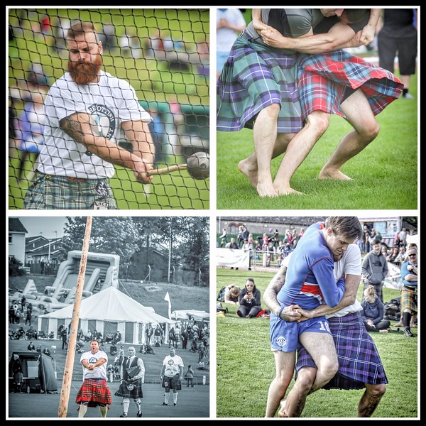 Cowal Gathering Collage