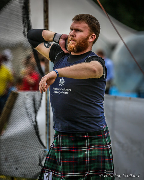John Neill - The Bearded Heavweight Athlete