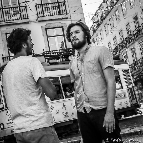 Street Conversation