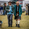 Kiltie, Beards, Shades & Dog