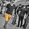 """Hey Guys!, I'm wearing my stylish yellow shorts"