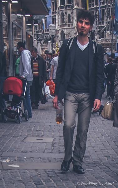 Strolling Through Munich