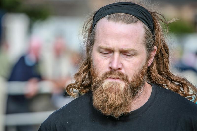 Bearded Wrestler