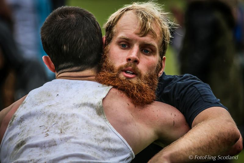 Bearded Icelandic Backhold Wrestler